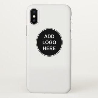 Funda Para iPhone X El negocio substituye el diseño del logotipo