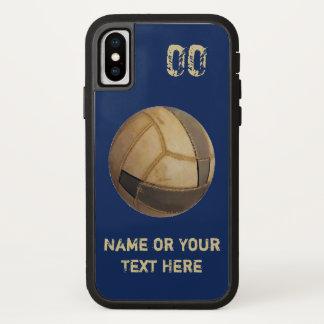 Funda Para iPhone X El nombre y el jersey numeran los viejos casos del