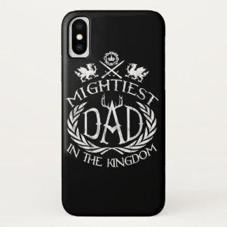 Funda Para iPhone X El papá más poderoso en el reino