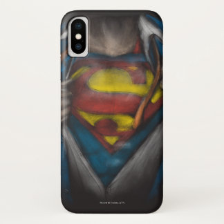 Funda Para iPhone X El pecho del superhombre el | revela el bosquejo