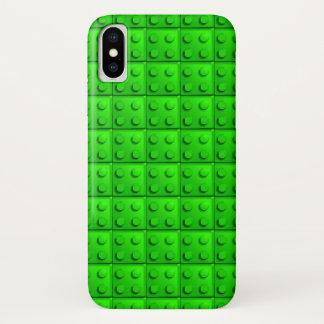 Funda Para iPhone X El verde bloquea el modelo