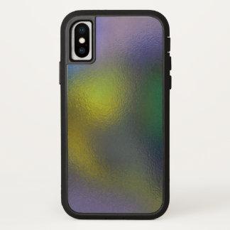 Funda Para iPhone X El vidrio tuerce (11 de 12) (el amarillo)