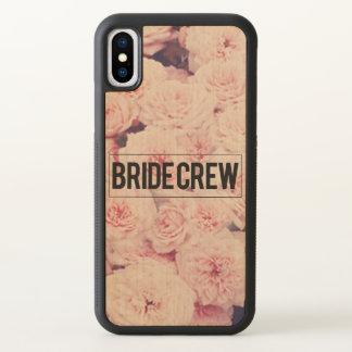 Funda Para iPhone X Equipo de la novia