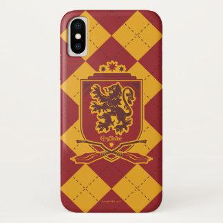 Funda Para iPhone X Escudo de Harry Potter el | Gryffindor QUIDDITCH™