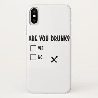 Funda Para iPhone X está usted los ques divertidos bebidos del