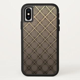 Funda Para iPhone X Estampado de animales moderno de los diamantes del