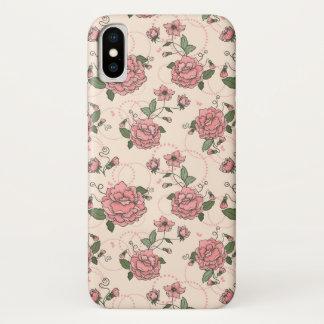 Funda Para iPhone X Estampado de flores 5