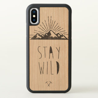 Funda Para iPhone X Estancia salvaje