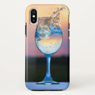 Funda Para iPhone X esté en la luna caer en el caso del iphone de la