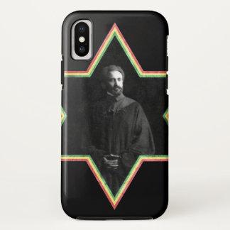 Funda Para iPhone X Estrella de Haile Selassie de David
