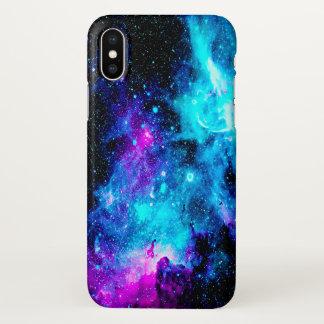 Funda Para iPhone X Estrellas del purpurina del espacio de la galaxia