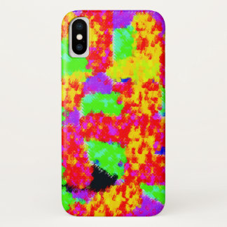 Funda Para iPhone X extracto de moda colorido