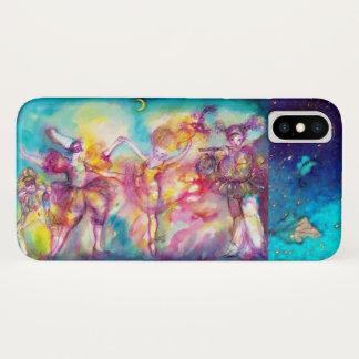 Funda Para iPhone X FIESTA de la MASCARADA, máscaras del carnaval,