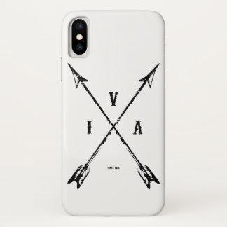 Funda Para iPhone X Flechas del indio del vintage