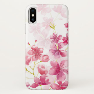 Funda Para iPhone X Flor de cerezo