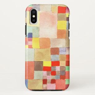 Funda Para iPhone X Flora en la arena de Paul Klee