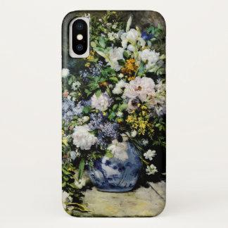 Funda Para iPhone X Florero de flores