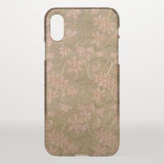 Funda Para iPhone X Flores antiguas (más opciones) -