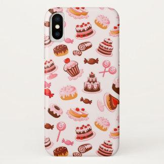 Funda Para iPhone X Fondo dulce