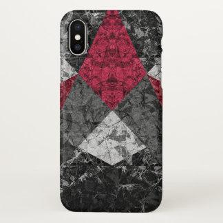 Funda Para iPhone X fondo geométrico de mármol G431 del caso del