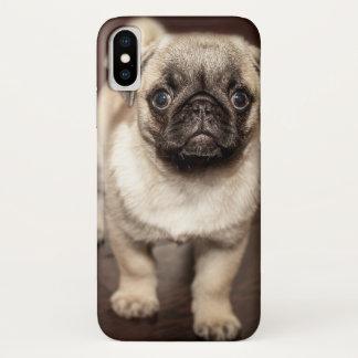 Funda Para iPhone X Foto linda del perrito del barro amasado