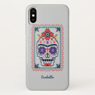 Funda Para iPhone X Frida Kahlo el | Calavera