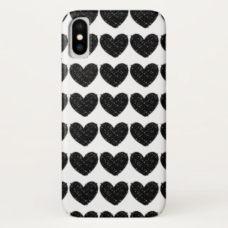 Funda Para iPhone X Garabatos del corazón