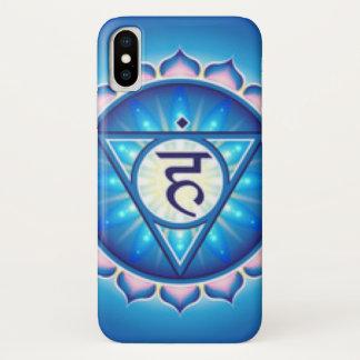 Funda Para iPhone X Garganta Chakra