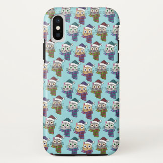 Funda Para iPhone X Gatitos del invierno