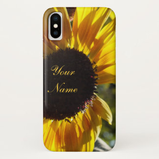 Funda Para iPhone X Girasol de la mañana *Customizable