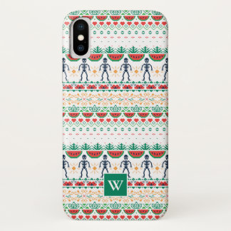 Funda Para iPhone X Gráfico mexicano de Frida Kahlo el |