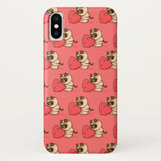 Funda Para iPhone X Grumpy cat  Love