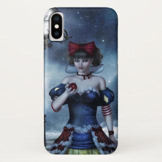 Funda Para iPhone X Grunge blanco como la nieve