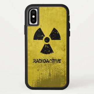 Funda Para iPhone X Grunge radiactivo del Selecto-UNO-Color