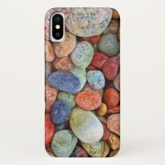 Funda Para iPhone X Guijarros coloridos