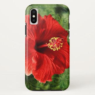 Funda Para iPhone X Hibisco