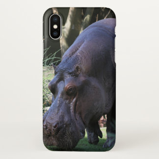 Funda Para iPhone X Hipopótamo AJ17