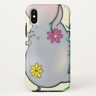 Funda Para iPhone X hipopótamo lindo del hippie