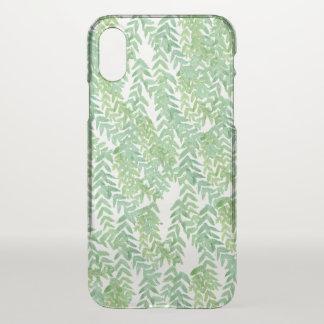 Funda Para iPhone X Hojas del verde
