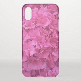 Funda Para iPhone X Hydrangea rosado brillante