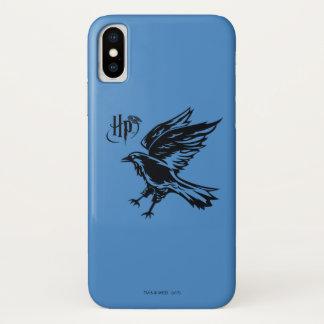 Funda Para iPhone X Icono de Harry Potter el | Ravenclaw Eagle