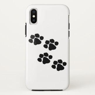 Funda Para iPhone X Impresiones animales de la pata