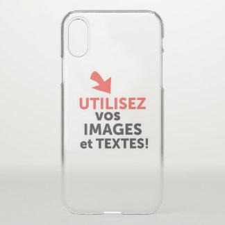 Funda Para iPhone X Imprimir sus diseños en línea DIY en Francés