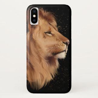 Funda Para iPhone X La cabeza de un león