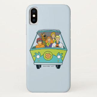 Funda Para iPhone X La máquina del misterio tiró 16
