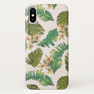 Funda Para iPhone X La selva ilustrada sale del modelo