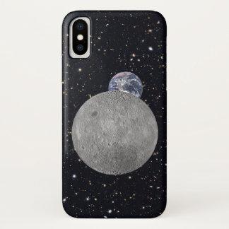 Funda Para iPhone X Lado lejano del cielo estrellado de la tierra de