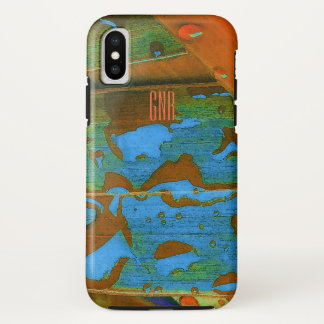 Funda Para iPhone X Las gotas de agua van tropicales