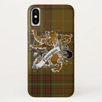 Funda Para iPhone X León del tartán de Finnegan