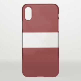 Funda Para iPhone X Letonia